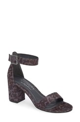 Coconuts By Matisse Sashed Sandal Grey Leopard Print