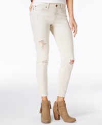 American Rag Ripped Skinny Jeans Only At Macy's Oatmeal