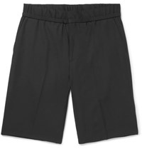 Wooyoungmi Wool And Mohair Blend Shorts Black