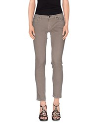 Pence Denim Denim Trousers Women Grey