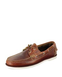 Eastland Made In Maine Freeport Boat Shoe Chicago Tan
