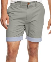 Tommy Hilfiger Men's Big And Tall Custom Fit Chino Shorts Griffin