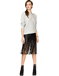 Pixie Market Thursday Night Fringe Skirt