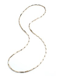 Eddie Borgo Large 14K Gold Peaked Link Necklace 40 L