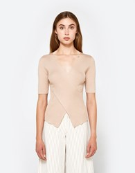 Which We Want Iman Top Tan