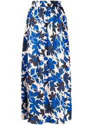 Boutique Moschino Floral Print Skirt 60