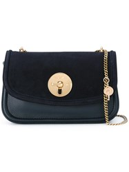 See By Chloe Chain Strap Shoulder Bag Blue