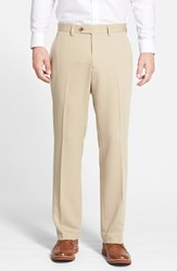 Men's Big And Tall Cutter And Buck Microfiber Twill Pants Khaki