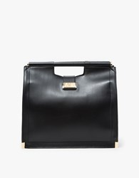 Want Les Essentiels Mina Top Handle Satchel Jet Black