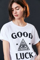 Truly Madly Deeply Good Luck Tee White