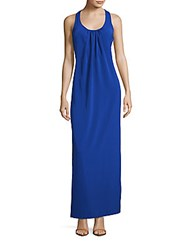 Amanda Uprichard Racerback Maxi Dress Royal