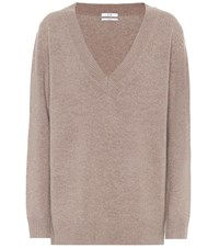 Co Wool And Cashmere Sweater Neutrals