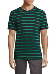 Barbour Glouces Striped Tee Fresh Green