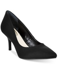 Alfani Women's Step 'N Flex Jeules Pumps Only At Macy's Women's Shoes Black Neoprene