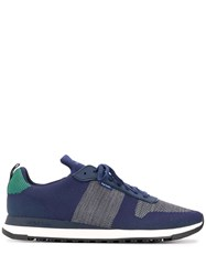Paul Smith Ps Lace Up Sneakers Blue