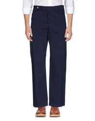 Haikure Trousers Casual Trousers Dark Blue