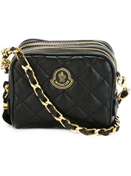 Moncler Mini Quilted Crossbody Bag Black