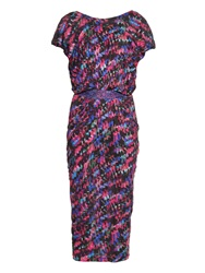 Saloni Apsara Printed Jersey Dress