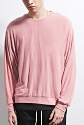 Forever 21 Eptm. Long Sleeve T Shirt Pink