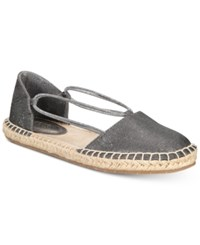 Kenneth Cole Reaction Women's How Laser Flat Sandals Women's Shoes Pewter