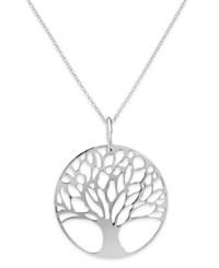 Giani Bernini 24K Gold Over Sterling Silver Or Sterling Silver Tree Of Life Pendant Necklace