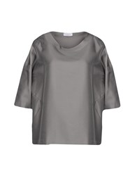 Rosso35 Blouses Grey