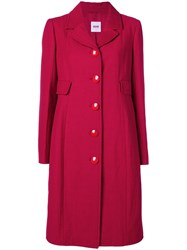 Moschino Vintage Coat Red