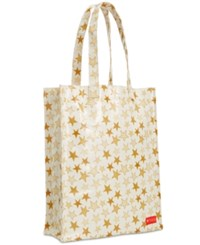 Macy's Coated Canvas Medium Tote Created For White