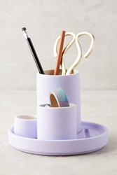 Anthropologie Finch Desk Collection Purple
