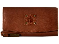 Sts Ranchwear The Cassie Joh Trifold Wallet Saddle Brown Wallet Handbags