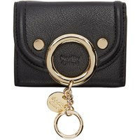 See By Chloe Black Small Mara Wallet
