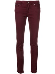 Polo Ralph Lauren Plain Skinny Jeans Pink And Purple