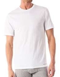 Michael Kors Short Sleeve Cotton Tee White