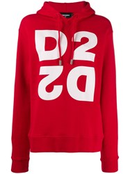 Dsquared2 Monogram Hooded Sweatshirt 60