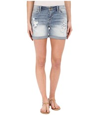 Calvin Klein Jeans Destroyed Weekend Shorts Perfect Pale Women's Shorts White
