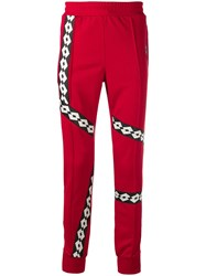 Damir Doma X Lotto Track Pants Red