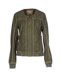 Bench Coats And Jackets Jackets Women Military Green