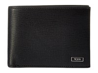 Tumi Monaco Double Fillfold Black Wallet