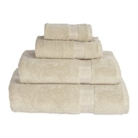 Dkny Mercer Plain Dye Towel Stone Neutral