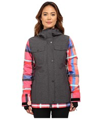 Roxy Ceder Snow Jacket Anthracite Women's Coat Pewter