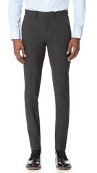 Theory Marlo Suit Trousers Dark Charcoal