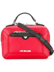 Love Moschino Top Handle Crossbody Bag Red
