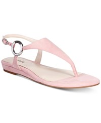 Alfani Women's Honnee Flat Sandals Only At Macy's Women's Shoes Pink Blush