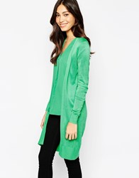 Oasis Edge To Edge Cardigan Green