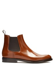 Church's Monmouth Leather Chelsea Boots Dark Brown