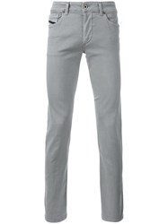 Diesel Black Gold Tapered Trousers Grey