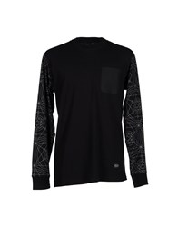 Lrg Topwear T Shirts Men Black