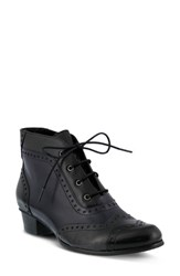 Spring Step Women's Heroic Bootie Black Multi Leather