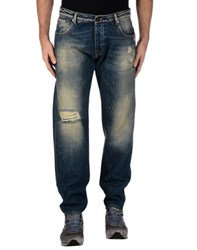 Macchia J Denim Denim Trousers Men