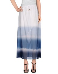 Jijil Skirts Long Skirts Women White